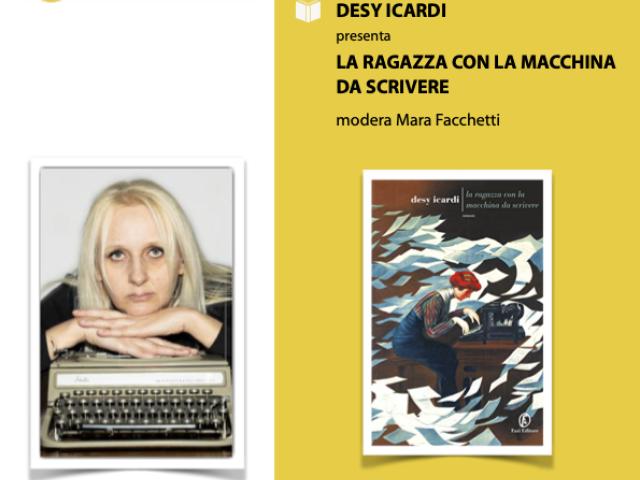 17 luglio 2020-  Desy Icardi   - La ragazza con la macchina da scrivere