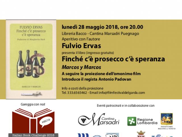 Fulvio Ervas presenta Finché c'è prosecco c'è speranza